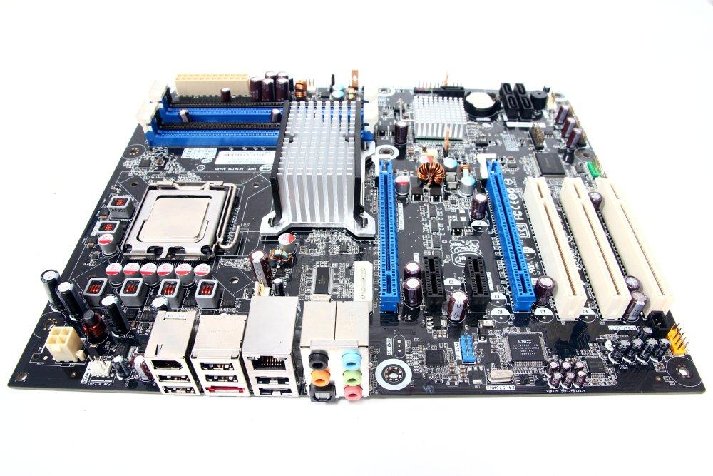 Computerkomponenten P45 Pc Computer Motherboard Unterstützung Lga 771 Quad Core Dual Kanal Ddr3 Speicher Mainboard ZuverläSsige Leistung