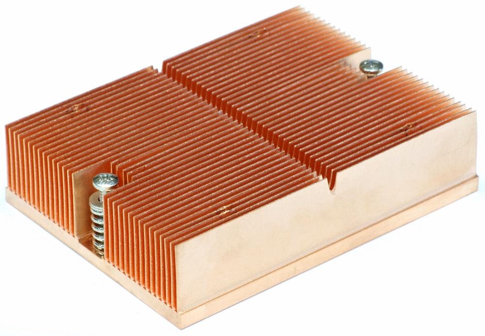 Passive CPU Copper Heat Sink/Kupfer-Kühler AMD Sockel/Socket 754 939 940 Opteron 4060787075383