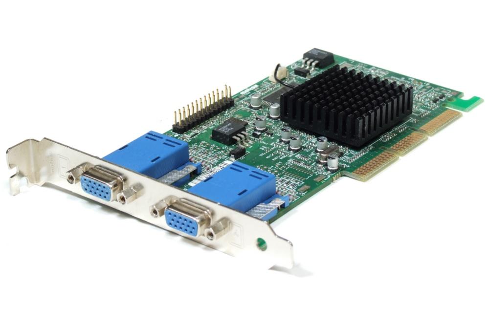Matrox Millenium G450 DualHead B-Ware/B-Stock G45+MDHA16DLXB 16MB DDR 2x VGA AGP 4060787066619