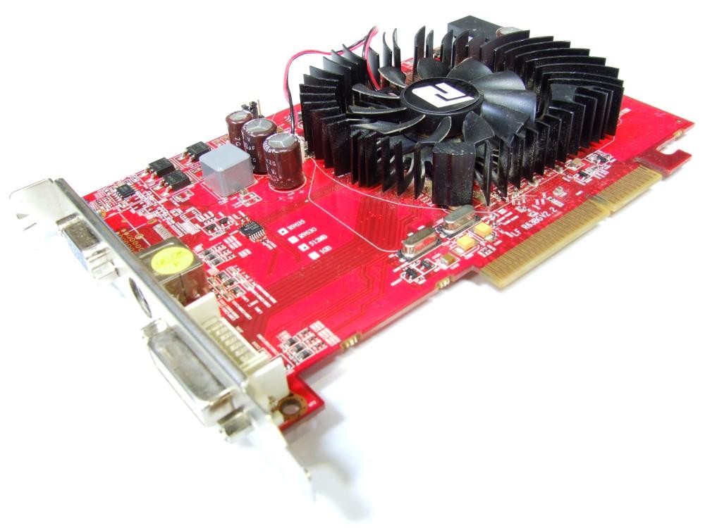 Powercolor Ati Radeon Hd 3650 512mb Ddr2 Ram Dvi Vga Tv Out Agp