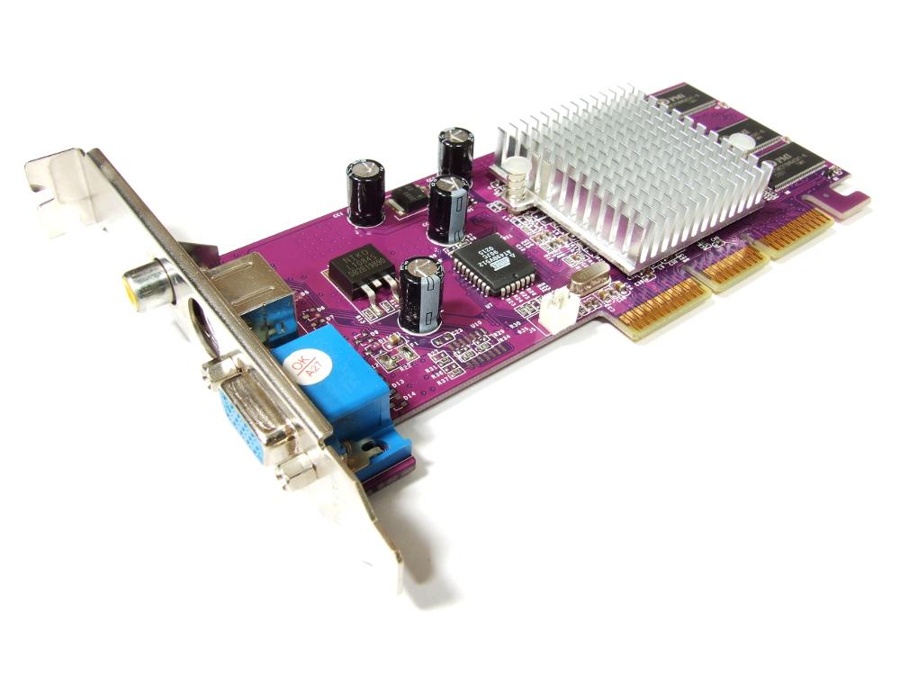 Palit NA-04408 GeForce4 MX440 8X 64MB DDR TV-Out VGA S-Video RCA AGP Grafikkarte 4710636261213
