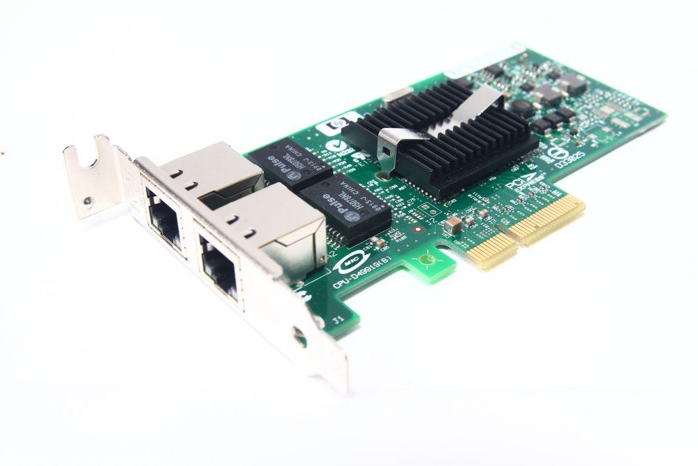 HP NC360T Dual Port 412651-001 card 10/100/1000 Mbit/s PCI express low profile 4060787124067