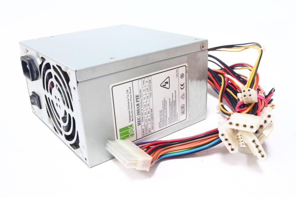 HEC-300AR-PTF 300Watt ATX Desktop PC Netzteil Power Supply Unit PSU 80mm Fan 4060787051745