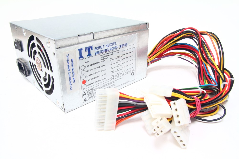 NC Model ATX 300 II DRB PPFC 300W Computer Netzteil / Desktop PC Power Supply 4060787276117