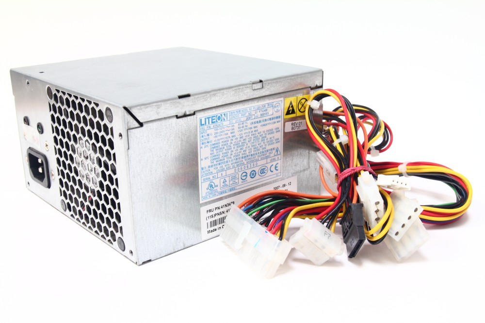 Lite-On PS-5281-7VW IBM FRU 41N3479 Lenovo Thinkcentre A55 M55 M57p Power Supply 4060787055439