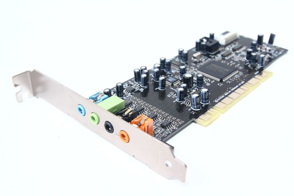 Creative Labs Sound Blaster Live! 24bit SB0410 7.1 PCI Sound-Karte Dell K4562 4060787076144