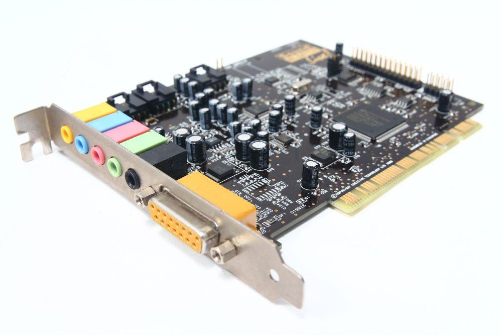 Creative Labs Sound Blaster Live! CT4830 Computer PCI Sound-Karte Game/Midi-Port 4060787076267