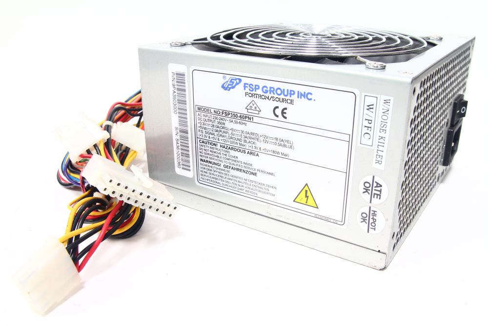 Fortron/Source Group FSP350-60PN1 350W ATX Computer Netzteil / Power Supply PFC 4060787081681