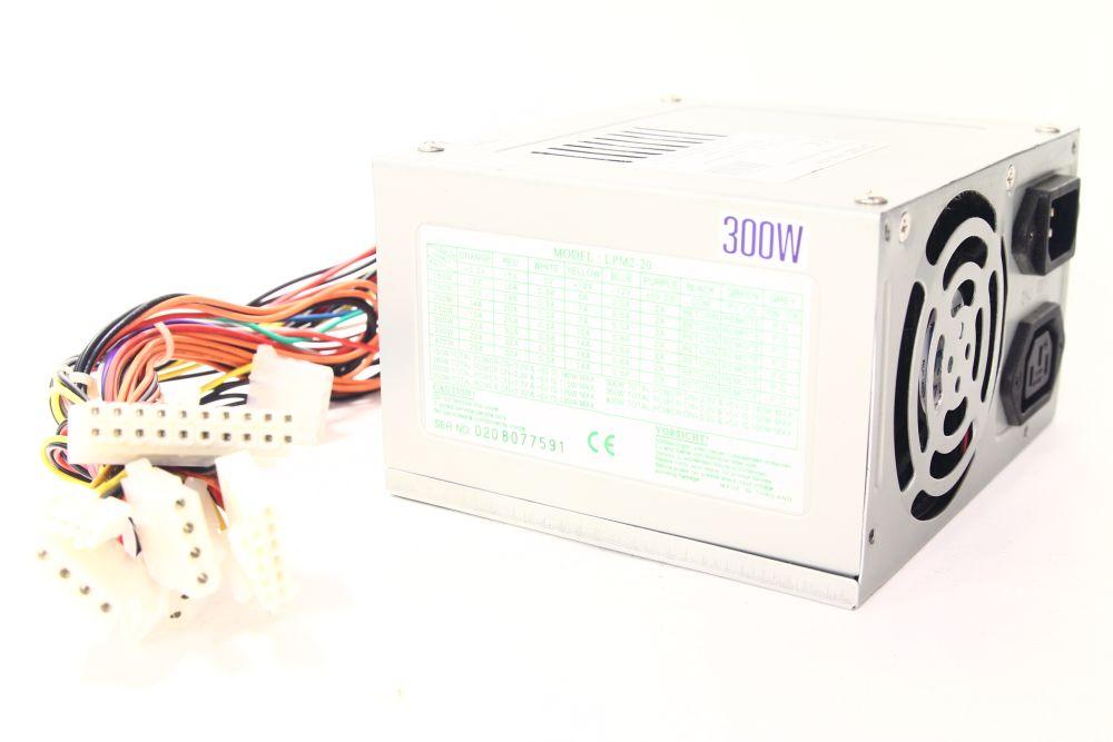 Q-TEC LPM2-20P4 300Watt ATX Computer Switching Power Supply / PC Netzteil 4060787082275