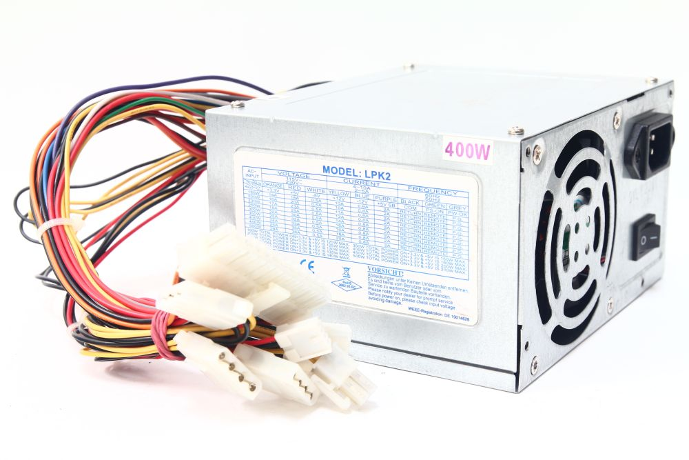 LPK2-23 ATX 400W Desktop PC Switching Power Supply Unit Computer Netzteil 4060787276162