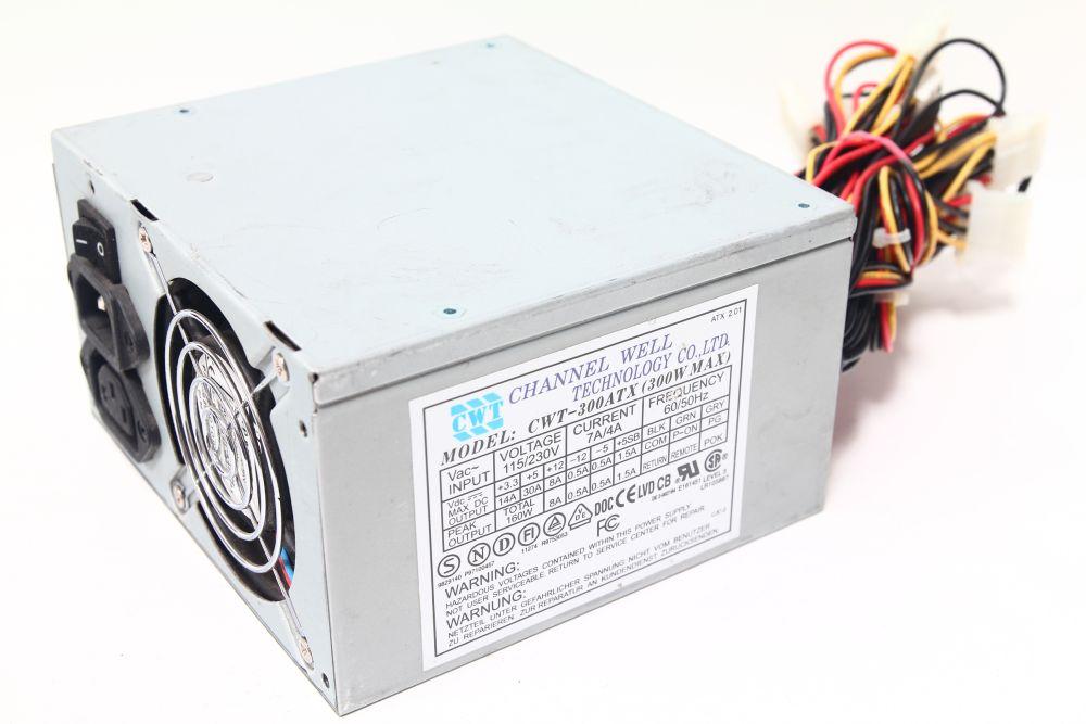 Channel Well CWT-300ATX12 ATX 300W Computer Power Supply Netzteil Pentium IV PFC 4060787284259