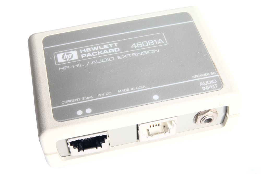 Hewlett Packard 46081A HP-HIL Audio Extension 9000 Series 300 25mA 12V 4060787099761