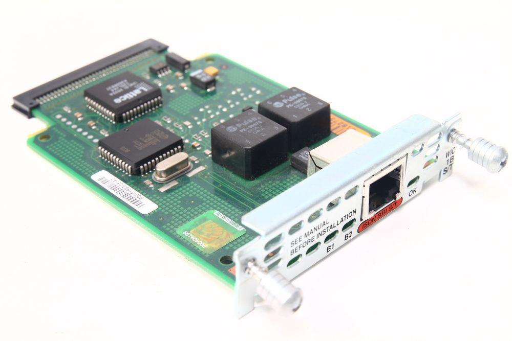 Cisco WIC-1B-S/T ISDN BRI S/T WAN Interface Card/Karte 73-2087-06 800-01833-04 4060787112927