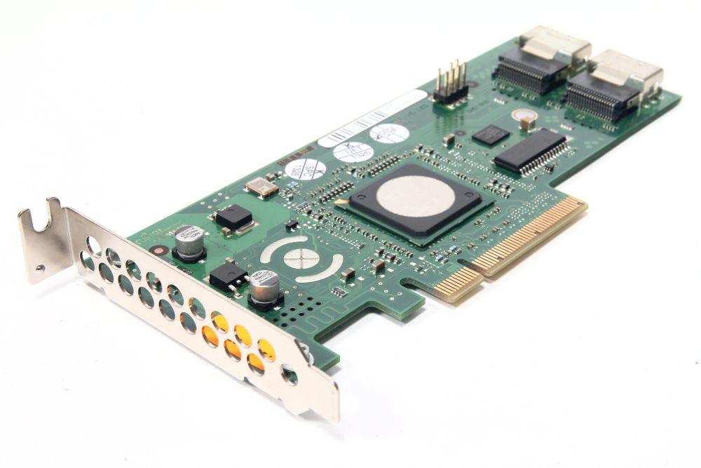 Fujitsu Siemens D2507-C11 SAS RAID Adapter Controller Card PCIe x8 LP RX300 S5 4060787272133