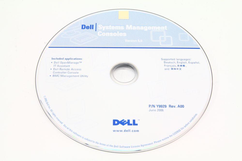 Dell P/N Y9929 Rev. A00 System Managements Consoles CD Version 5.0 Multilanguage 4060787144775