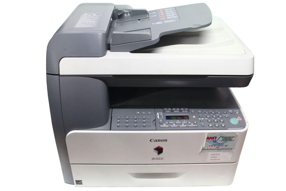 Canon iR1022i Multifunktionsgerät Laser Drucker Scanner Digitalkopierer LAN 4060787146083
