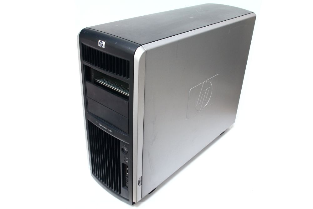 HP Workstation C8000 Computer Chassis PC Case Full Profile Gehäuse black/silver 4060787157836