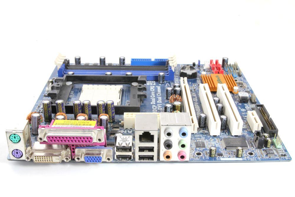 ASRock 939N68PV-GLAN mATX Desktop PC Computer Mainboard AMD Socket / Sockel 939 4060787252357