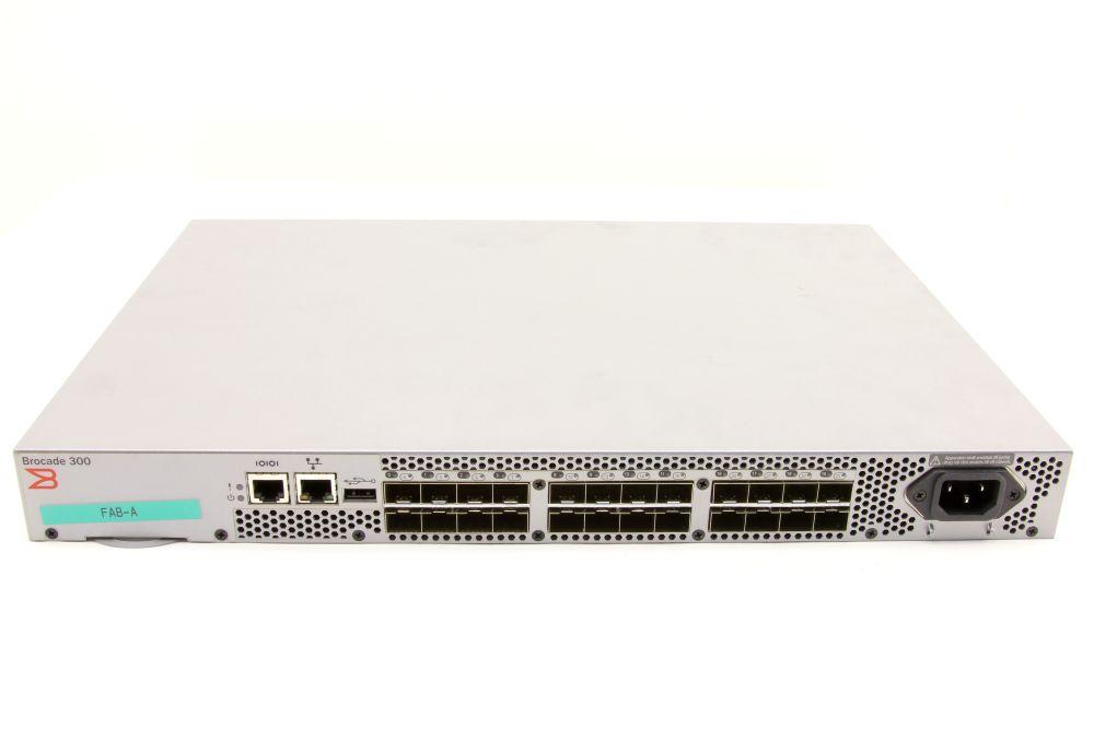 Brocade 300 24-Port SAN Storage Area Network Fibre Channel FC Switch SM-310-0000 4060787272768