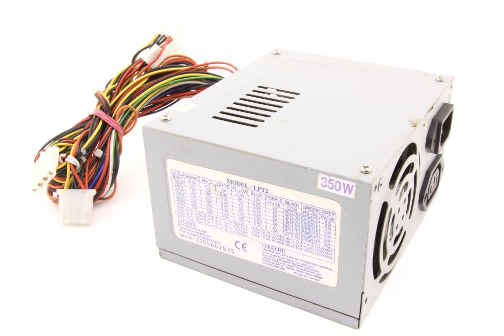 Powerlink Model LPT2 350W ATX Computer Switching Power Supply Unit PC Netzteil 4060787276995