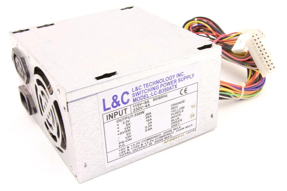L&C Technology LC-B350ATX 350W ATX Computer Switching Power Supply PC Netzteil 4060787276704
