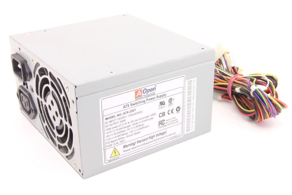 AOpen ATX-250T 250W ATX Switching Power Supply Desktop PC Computer Netzteil 4060787276728
