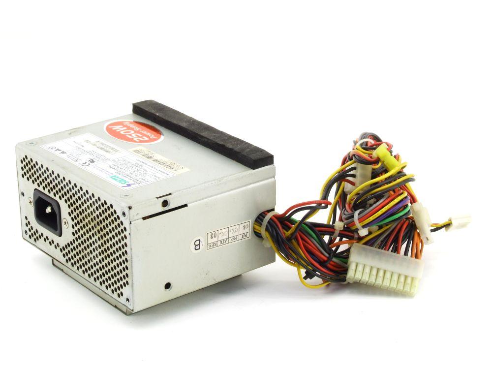 Soltek Computer ENP-2725D 250W Power Supply W/PFC 250 Watt PC Netzteil 20 pin 4060787307392