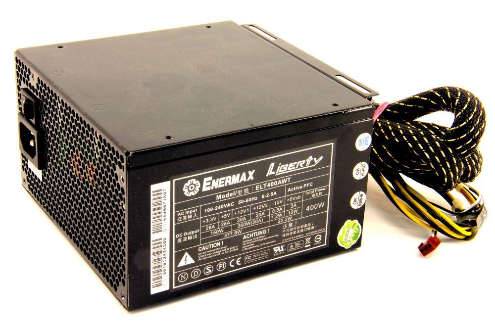 Enermax ELT400AWT Liberty 400W PC Power Supply PSU / Netzteil Cable Management 4060787332684