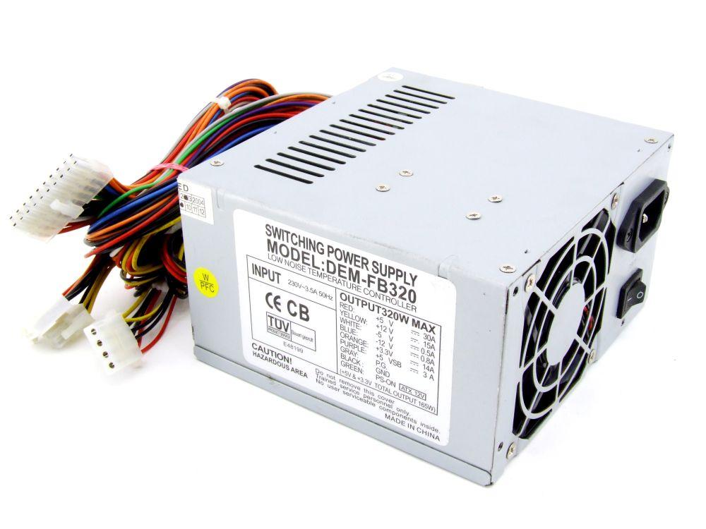 NMB MJPC-270A1 268,9W Computer Power Supply PC Netzteil P/N SN005J270PCW-5 4060787276506