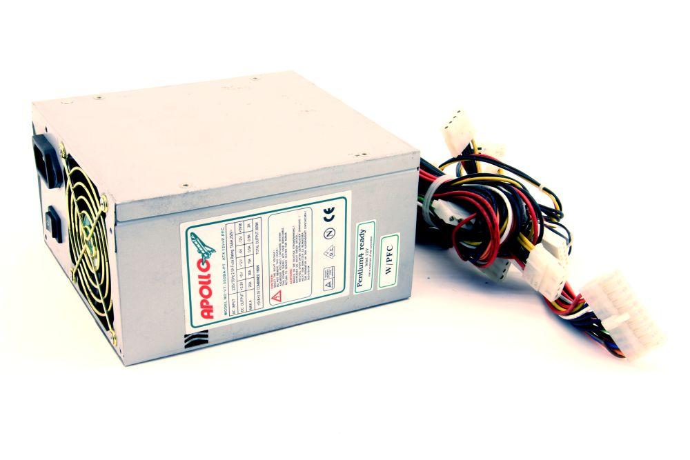 Apollo VT-300BA-PT 300W ATX Computer Power Supply Unit PSU Desktop PC Netzteil Nicht zutreffend