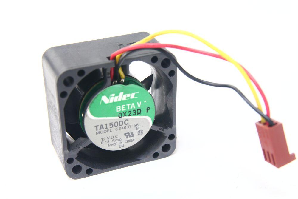 Nidec Beta V TA150DC C34637 12V 0.13A DC Fan 40x40x20 mm System Cooling Lüfter 4060787070029