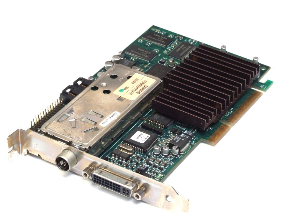 3Dfx VooDoo3 3500 TV 16MB AGP 3.3V VESA EVC Video Card/TV-Tuner 210-0371-002 4060787184276