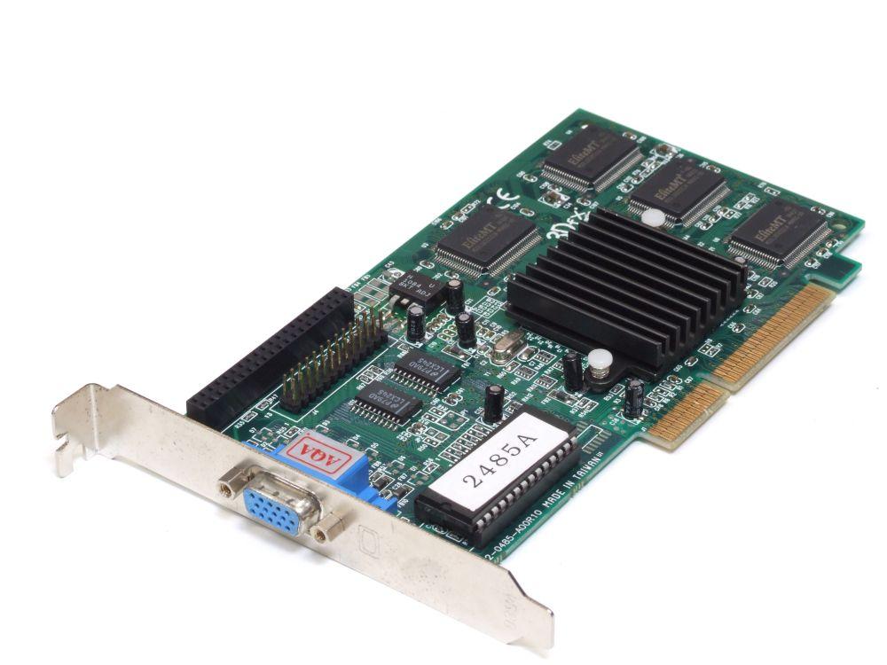 3Dfx Voodoo Banshee 2485A 16 MB AGP 3.3V  Graphics Card/Grafikkarte 00325199848A 4060787184825