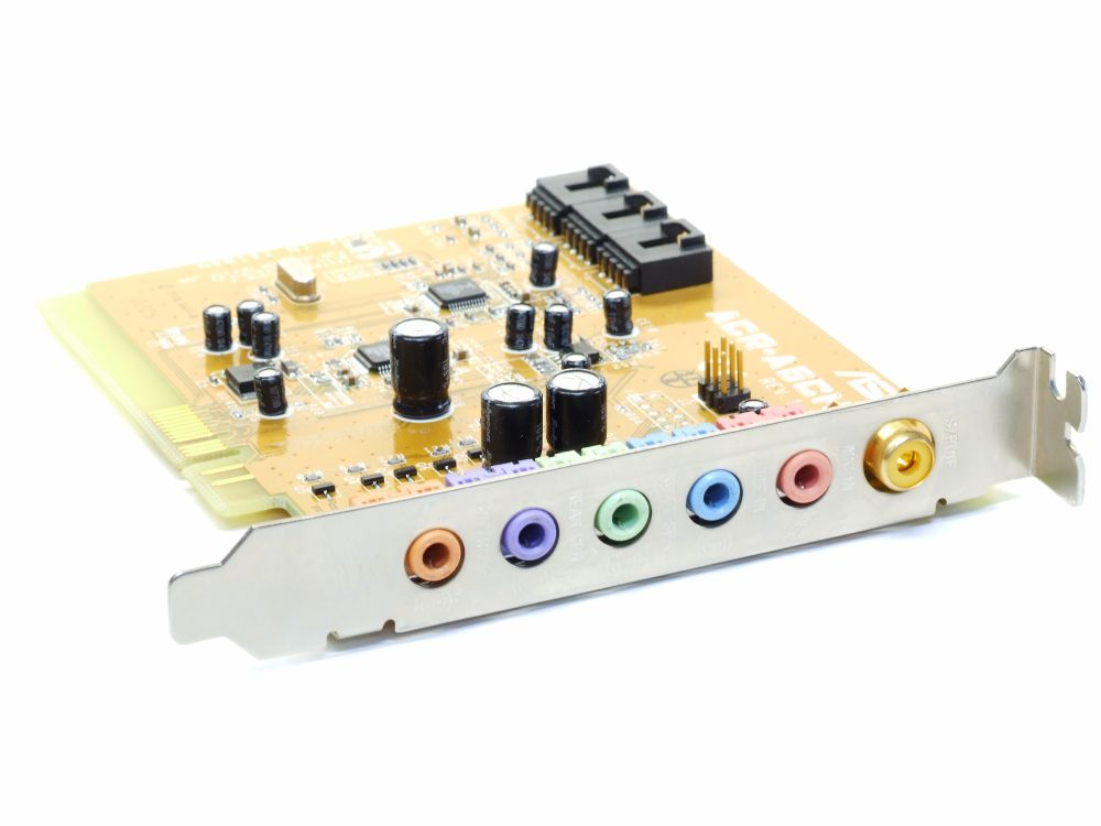 ASUS ACR-A6CH 5.1 Dolby-Soundkarte for ACR-Slot S/PDIF PC Audio-Card C1T661 4060787190314