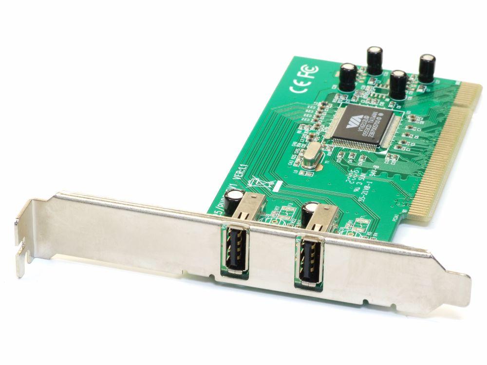 Vivanco USB 2.0 2Port PCI Computer Host Controller Card/Karte PU2325/PU2345V1 4060787194312