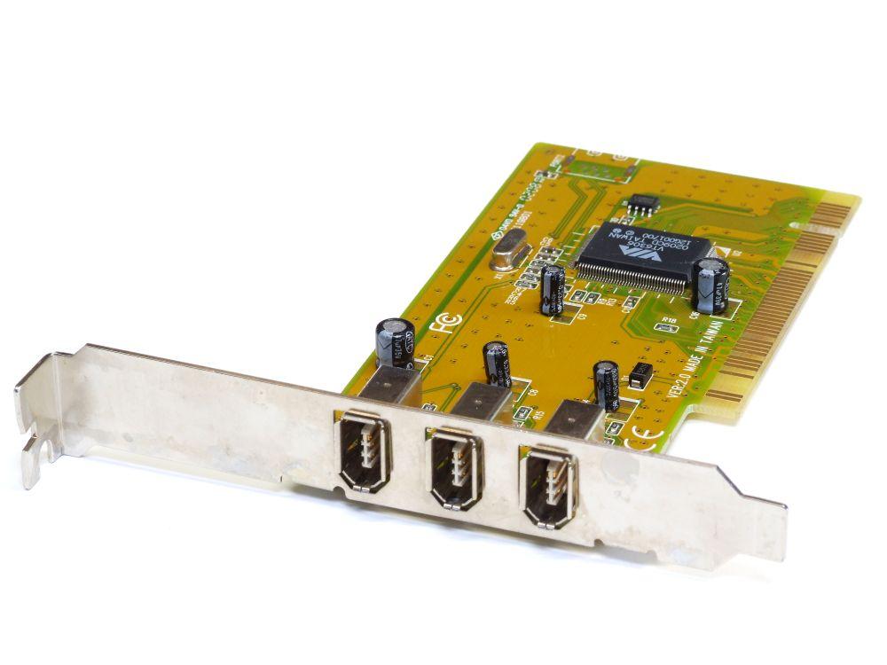 Sunix 3 Port Firewire PCI PC Controller Expansion Adapter Card/Karte 12650 4060787196125