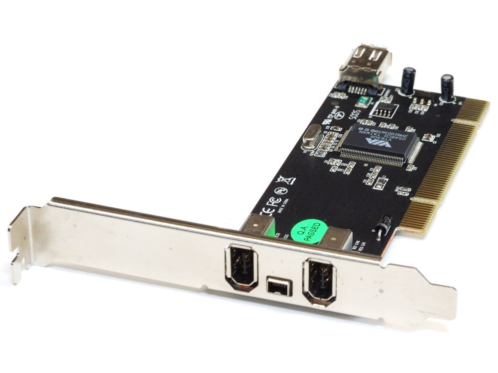 Hama 2 External +1 Internal +1 Mini Port IEEE1394 PCI PC Card/Karte PCI-IOFWVIA 4060787196453