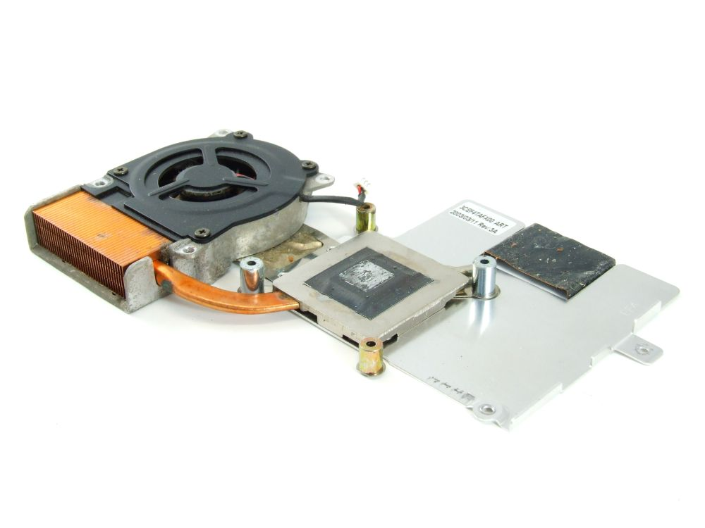 Fujitsu Siemens 1HYEZZZ00Q6 Lifebook C1020 CPU Cooler Heat Sink Assy 3CEF4TAFX00 4060787264084