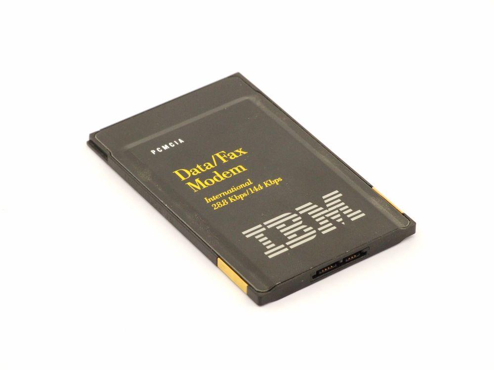 IBM DF2814C-07A TDK PCMCIA Data Fax Modem Card 5V Slot Adapter JAB01931 42H4326 4060787264862