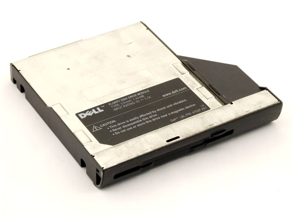 Dell 4702P Inspiron Latitude Notebook Series FDD Caddy Floppy Disk Drive 05C671 4060787264794