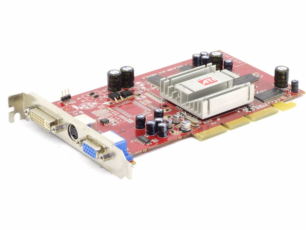 Sapphire 1024-RC13-55-SA ATI Radeon 9250 128MB V/D/VO AGP PC Video Graphics Card 4060787282712