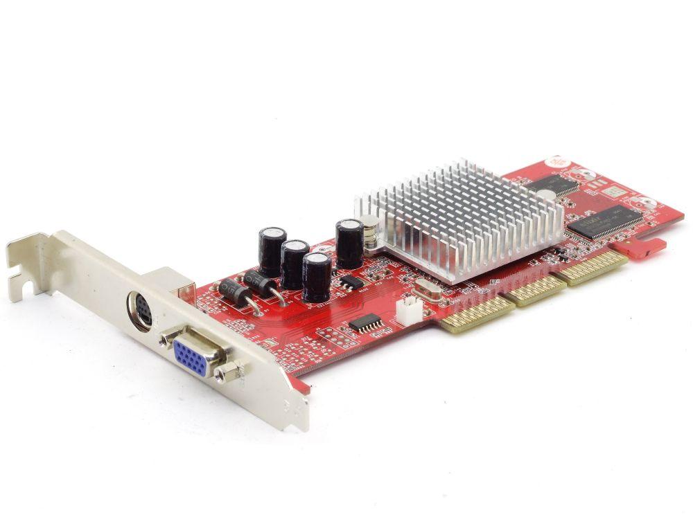 Palit AA-92500-TD16-AGP13B ATI Radeon 9250 AGP8x 128MB TV-Out VGA Graphics Card 4060787283122