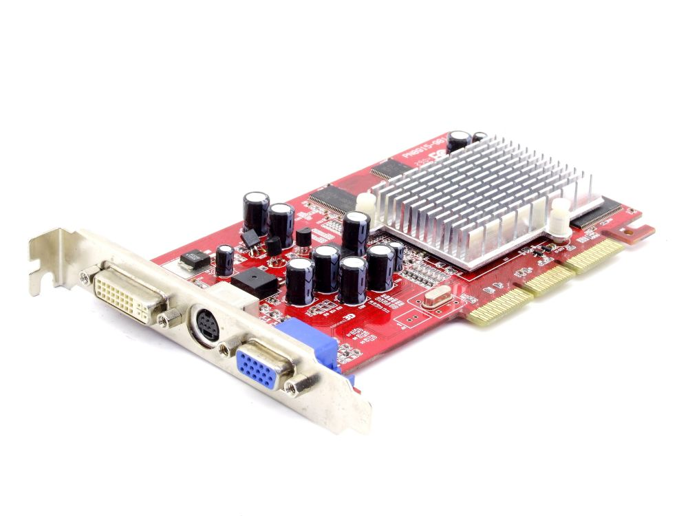 Connect 3D C3D 6040 ATI Radeon 9200 SE 128MB DDR DVI TV AGP Video Card 8915-981 4060787283917