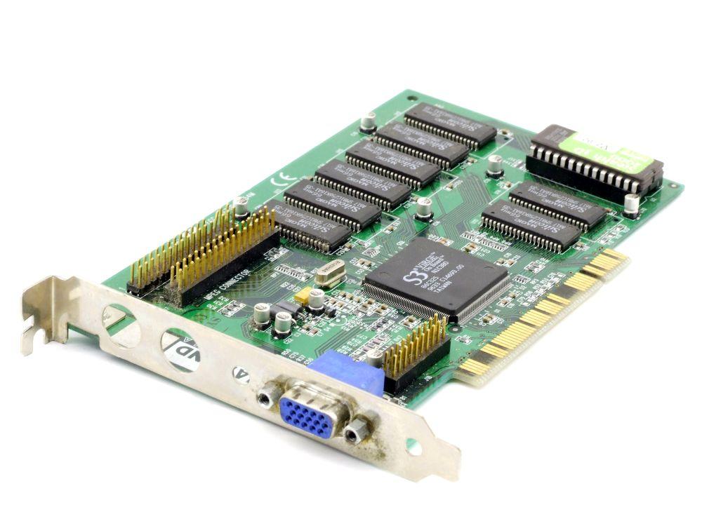 ATI ML21230 Radeon 9000 GPU w/TV 64MB DDR AGP TV VGA Video Adapter Graphics Card 4060787288127