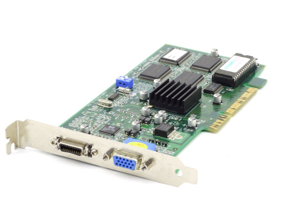 Gainward 9811-11A S3 Virge SMX 4MB SGRAM Vintage VGA DFP PC AGP 3.3V Grafikkarte 4060787288578