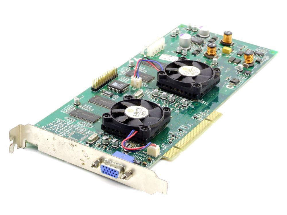 3dfx Voodoo5 5500 64MB Vintage PCI VGA Grafikkarte 210-0414-001-A1 faulty/defekt 4060787289711
