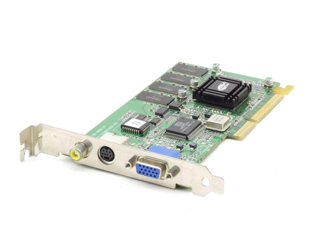 ATI 1026810 Rage 128 GL GPU 32MB SDRam AGP 3.3V VGA TV RCA Grafikkarte 109-68100 4060787289070