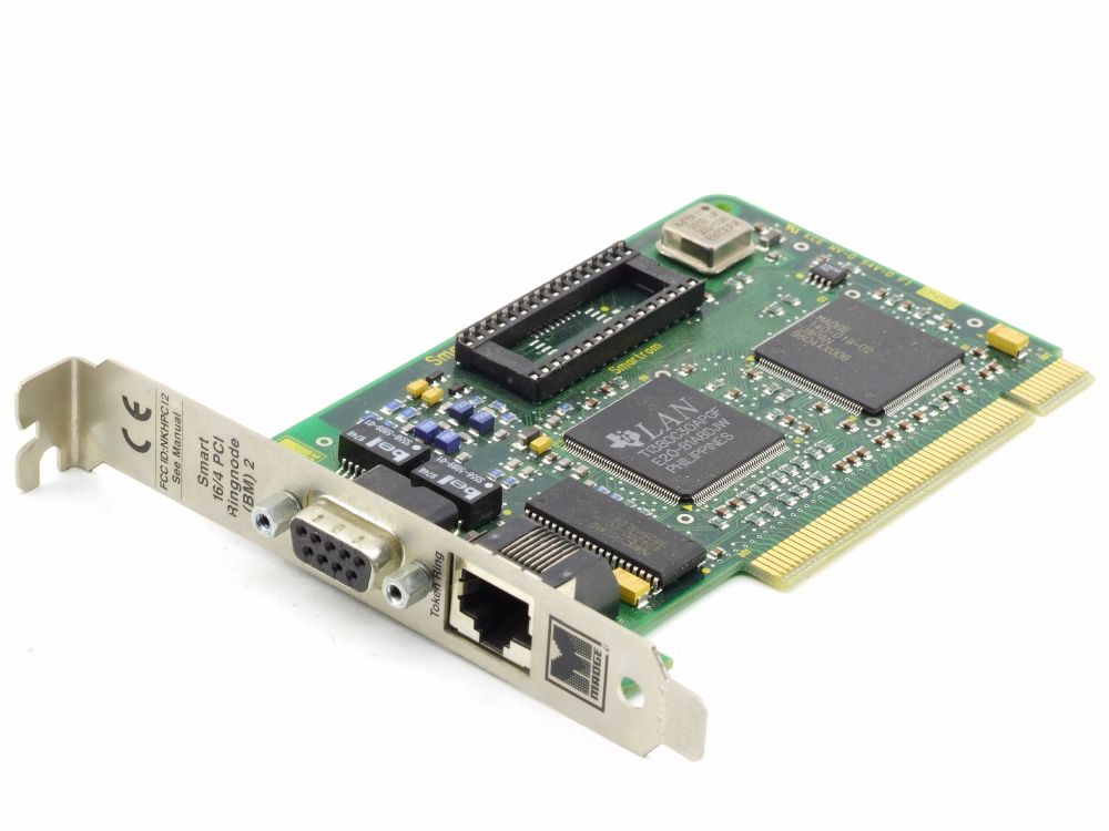 Madge 151-100-04S Token Ring 16/4 PCI RJ45 Network Card 151-101-05 Dell 00051272 4060787289995