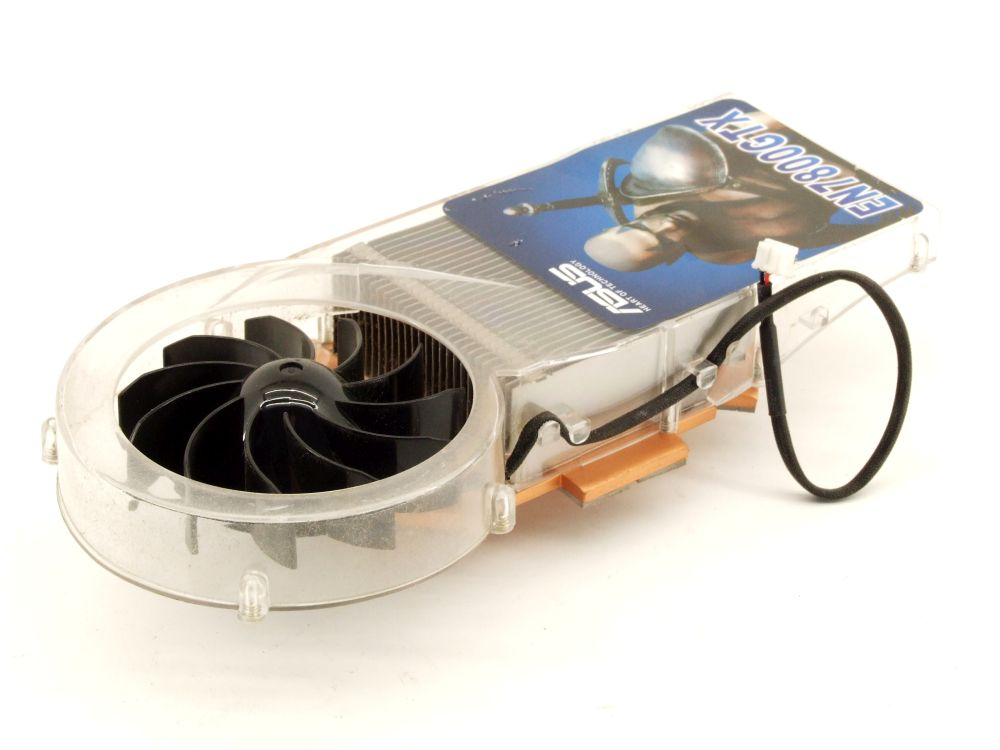ASUS EN7800GTX Nvidia GeForce Arctic Cooling GPU Card Fan 4-Pin Chip Heat Sink 4060787290397