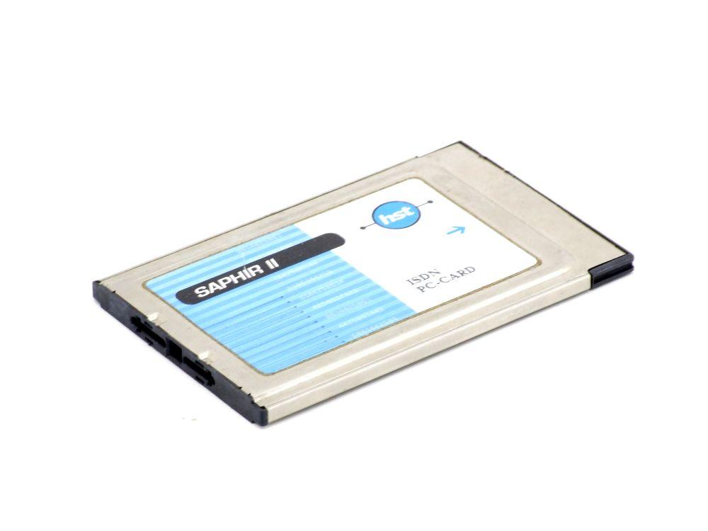 HST Saphir II B PCMCIA ISDN PC-Card Laptop Network LAN Controller Modem Adapter 4060787297594